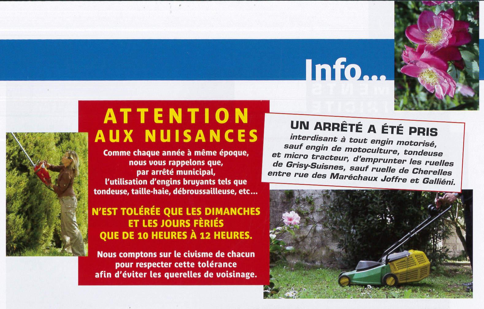 nuisances site internet